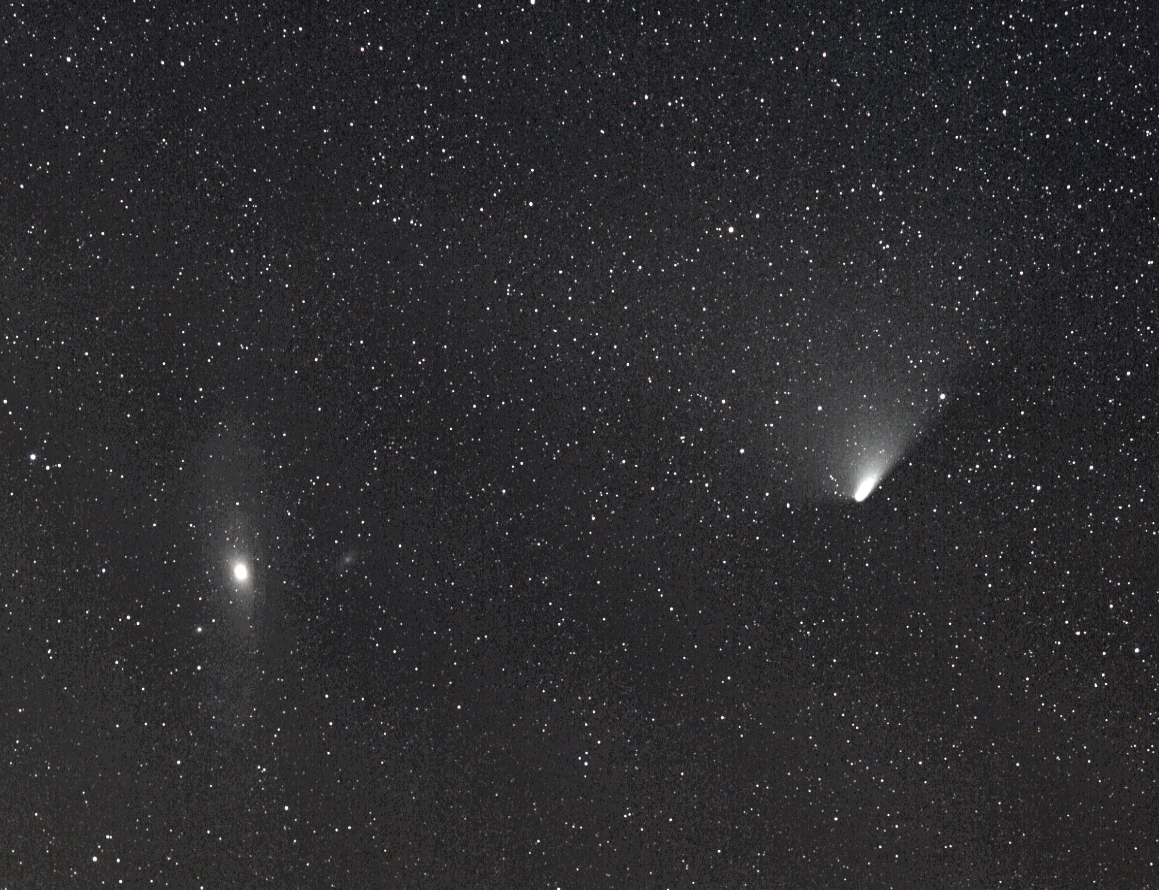 20130406, 20.24UT, Canon EOS 5Dii, EF135mm/2L @F2.8, ISO1600, 19x30s.