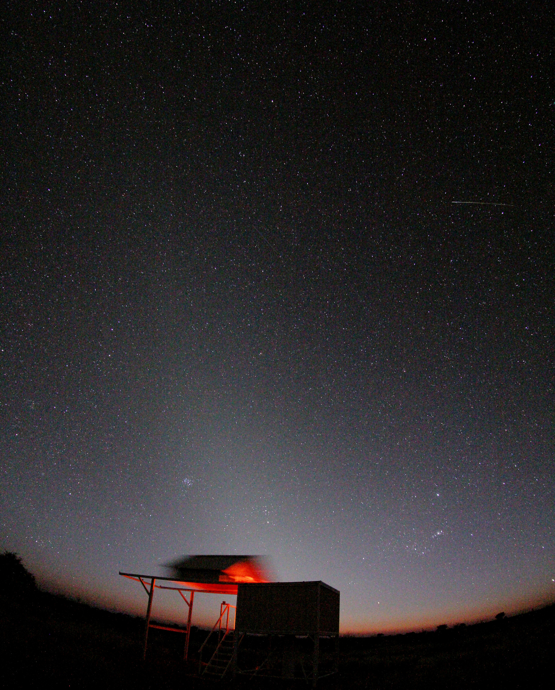 20130707, dawn over Fornax observatory.
