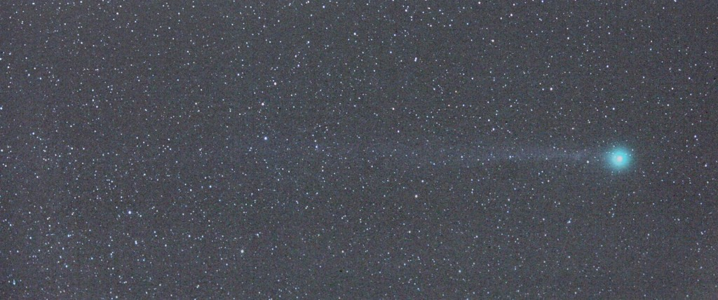 2015-01-08, 18.39UT, Canon EOS5Dii and EF135mm/2L at F2.8, 9x20sec, ISO1600.